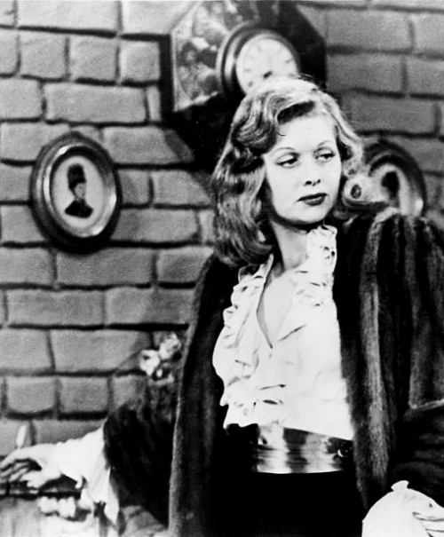 Lucille Ball as Tallulah Bankhead in I Love Lucy's season one episode, Lucy Fakes Illness