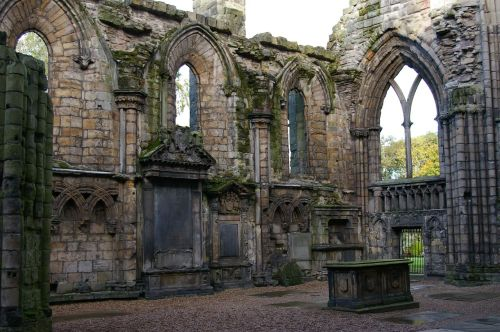 Holyrood Abbey (Edinburgh, Scotland)