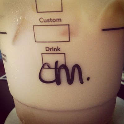 New drink? Caramel macchiato 👏😉  (Taken with instagram)
