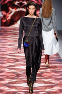 Erickson Beamon for Osman..stunning show. Photo courtesy of Style.com