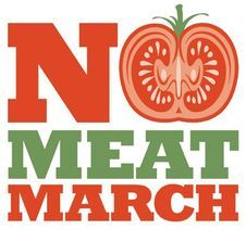 danabowbana:  Click to be a part of No Meat March!!!!