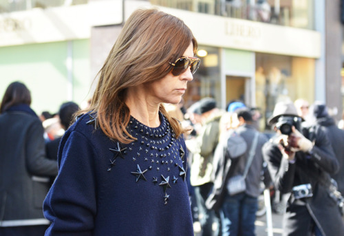 Carine Roitfeld's Givenchy Mens sweater