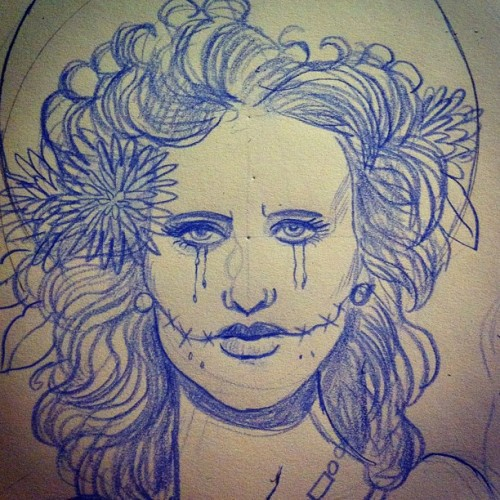 New #print in progress #blackdahlia #bettyshort #la #murder #lapd #losangeles #meurtre #jamesellroy (Taken with instagram)