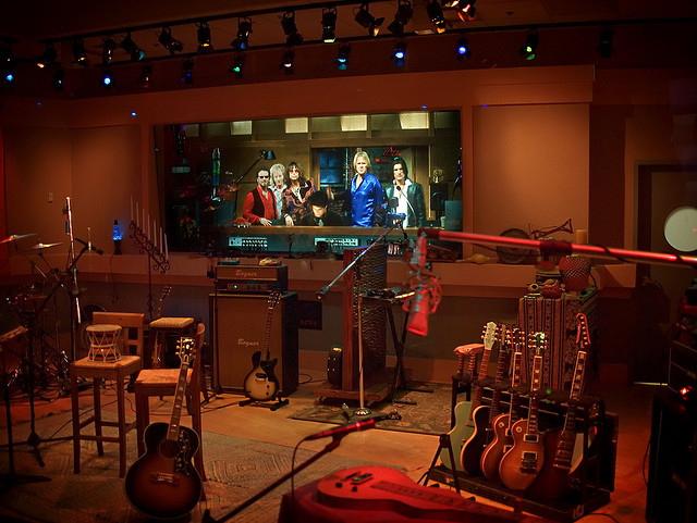 "Aerosmith ""Roller Coaster"" Studio"