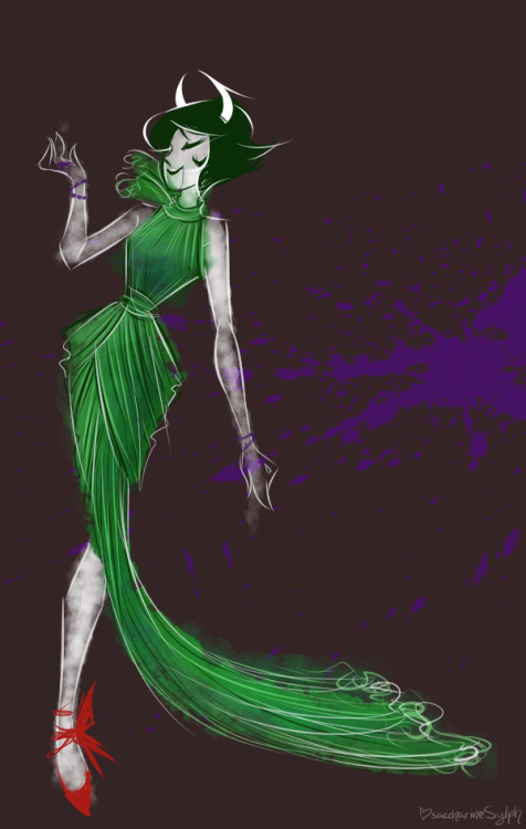 saccharinesylph:  oops I couturestucked? IDEK, way back when, I used to do fashion illustrations, hello this is awful, anyway, warmup.