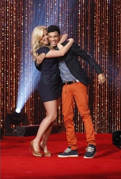 Chelsie Hightower (S4) with her season 14 celebrity partner Roshon Fegan from Shake It Up! Who's rooting for them on this season of DwtS?