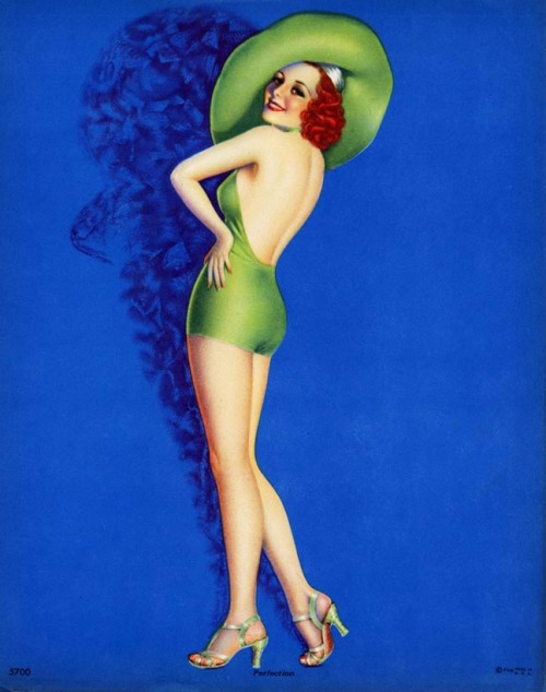 """Perfection"" by Billy Devorss c. 1940's"