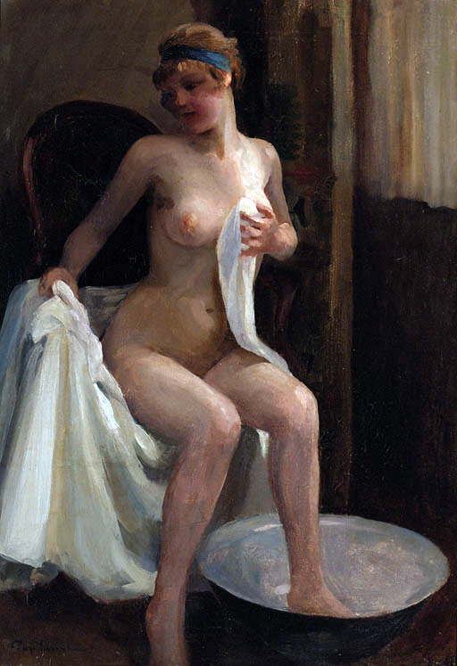 ricp:  Emil PapThe Bather