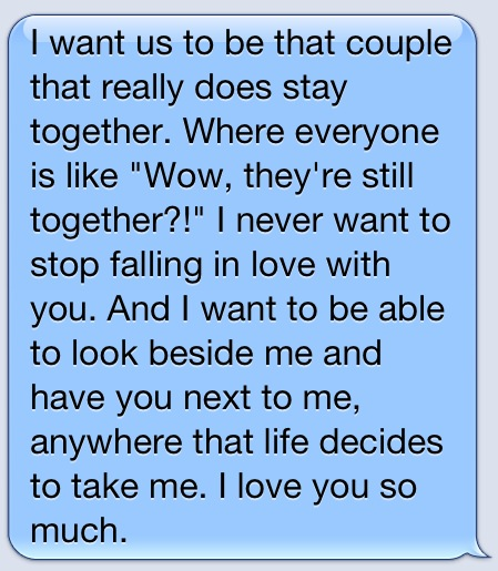 Me and my boyfriend are this type of couple. :) <3