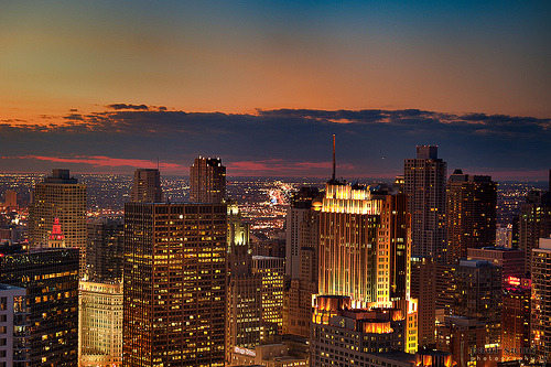 k-thai:  Chicago Skyline.