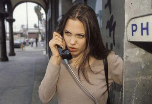 19 year old Angelina Jolie
