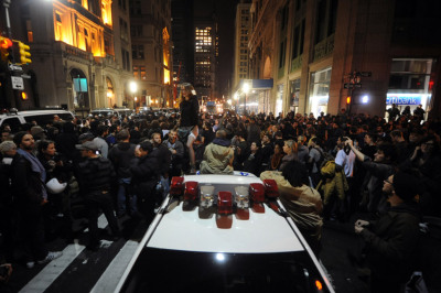 "occupyallstreets:  WikiLeaks Uncovers Homeland Security Report on Occupy Movement The transparency organization WikiLeaks has published an assessment report from the Homeland Security Department (DHS) on the Occupy movement that was put together in October of last year. The assessment was attached to a Stratfor email, one of five million or so emails the organization obtained and has been releasing since February 27. The release of the report is timely, as it is being released just as Occupy supporters are mobilizing for demonstrations against the suppression of the Occupy movement by law enforcement and political leaders in the United States. Put together by the Office of Infrastructure Protection under DHS, the report seems to have put together with the following presumption in mind, which appears in bold at the top of the report:  ""Mass gatherings associated with public protest movements can have disruptive effects on transportation, commercial, and government services, especially when staged in major metropolitan areas. Large scale demonstrations also carry the potential for violence, presenting a significant challenge for law enforcement.""  The report proceeds to break down the risks and threats the Occupy movement poses to ""critical infrastructure"" by looking at their ""impacts"" on financial services, commercial facilities, transportation, emergency services and government facilities. The breakdown relied on news reports from sources like the New York Daily News, CBS, Associated Press, CNN, Chicago Tribune, Reuters, New York Times, Boston Globe, etc. In the report's summary, DHS concluded:  ""The growing support for the OWS movement has expanded the protests' impact and increased the potential for violence. While the peaceful nature of the protests has served so far to mitigate their impact, larger numbers and support from groups such as Anonymous substantially increase the risk for potential incidents and enhance the potential security risk to critical infrastructure (CI). The continued expansion of these protests also places an increasingly heavy burden on law enforcement and movement organizers to control protesters. As the primary target of the demonstrations, financial services stands the sector most impacted by the OWS protests. Due to the location of the protests in major metropolitan areas, heightened and continuous situational awareness for security personnel across all CI sectors is encouraged.""  Much like the threat government officials might allege WikiLeaks releases pose to national security, the threat is, for the most part, hype. Though the protests had been ""peaceful,"" Homeland Security determined that the fact that more and more citizens were turning out to support the cause of Occupy posed a possible threat to critical infrastructure and public order. The presence of supporters of Anonymous, which the FBI has been investigating, led Homeland Security to believe ""potential incidents"" or ""potential security risks"" could transpire. But, while Anonymous has claimed responsibility for cyber attacks, it has absolutely no history of violence in the world of non-virtual reality. Read More"