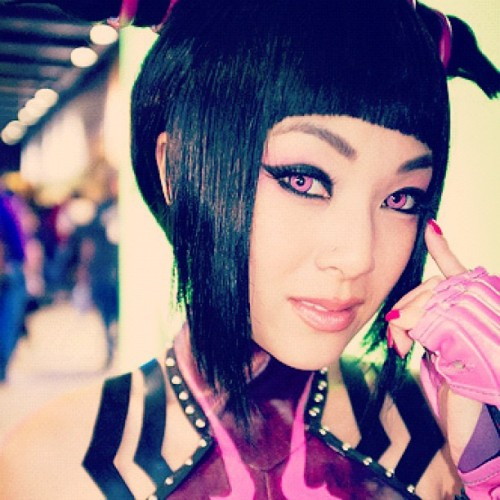 vampybitme:  Juri Han #streetfighter #cosplay PAX Prime Convention Seattle Washington (Taken with instagram)  I am so going to this years PAX.