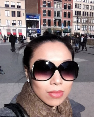 Do you like my new shades from Express? :-)
