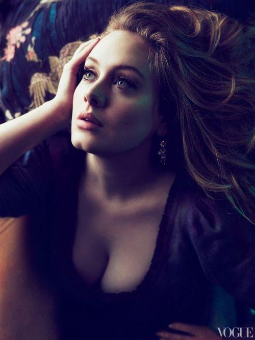 mychronologyofthoughts:  Adele, Vogue