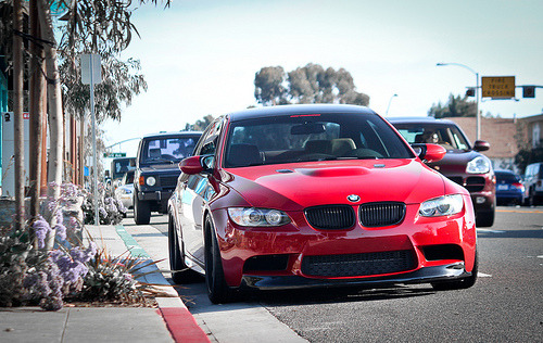 unslain:  automotivated:  M3.[Explored] (by Hayden G. Photography)  Woah