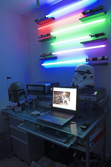 Welcome to the nerd-cave…
