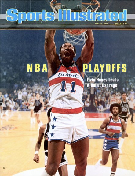 Elvin Hayes, Washington Bullets (May 8, 1978) [Image Source: SI.com]