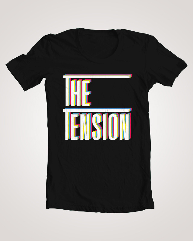 Band T-shirt:  The Tension Shirt Number: 10 ________________________________________  http://www.myspace.com/thetension1  http://thetensionband.tumblr.com/  Check it!