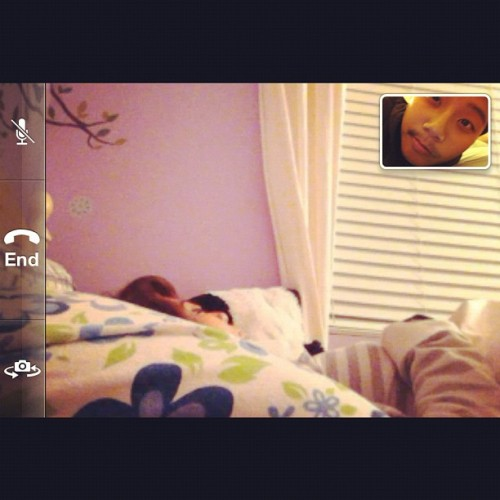 @kayladuhneese she's been sleeping since I called her 😂 #sleep #girlfriend #cute #instagram #iphonesia (Taken with instagram)