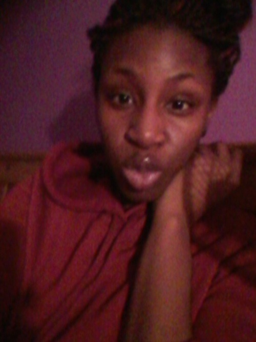 sent my babe this kissy face last night ! its crazy cus with my ex's i would try & make myself look a lil cuter to send them a picture of me…but with jameel i just take & send. thats how beautiful & flawless he makes me feel <3