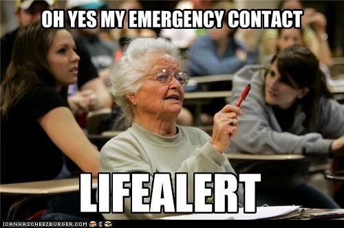OLD PEOPLE IN COLLEGE BRUH
