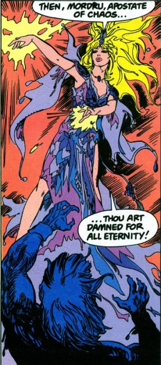 Amethyst gets cranky. From Amethyst Princess of Gemworld #2, Third Series.