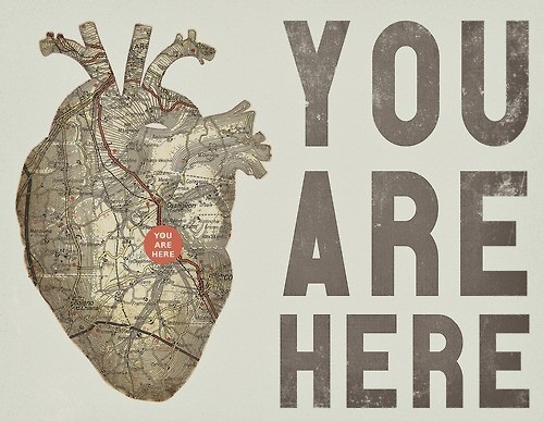 You are here.