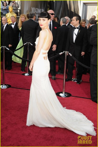THE ROONS killing it at the Oscars in Givenchy.