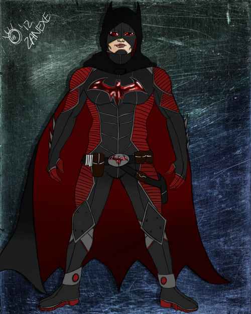 Here's my Batman redesign. It's actually a really old drawing I did, just updated and better drawn. What do you think? :)
