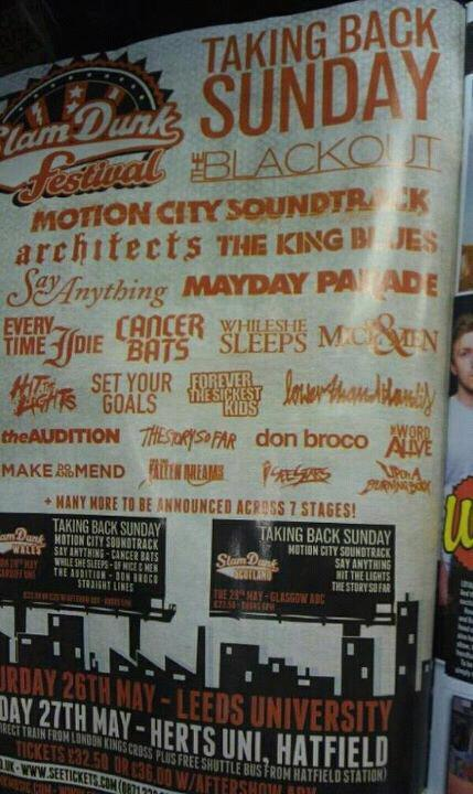 New Slam Dunk announcement!