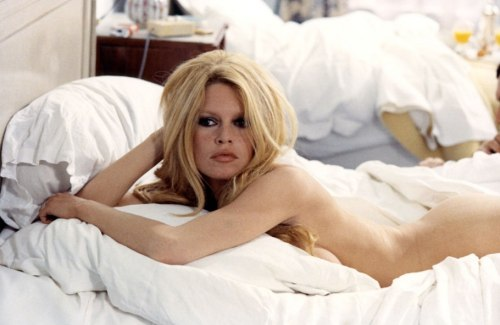 suicideblonde:  Brigitte Bardot on the set of Les Femmes, 1969
