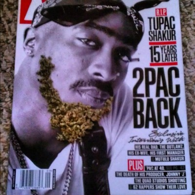 2Pac Back #2Pac#XXL#faded#laie#hawaii  (Taken with instagram)