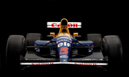 A true Super Car. Nige's 1992 world championship winning Williams-Renault FW14B.