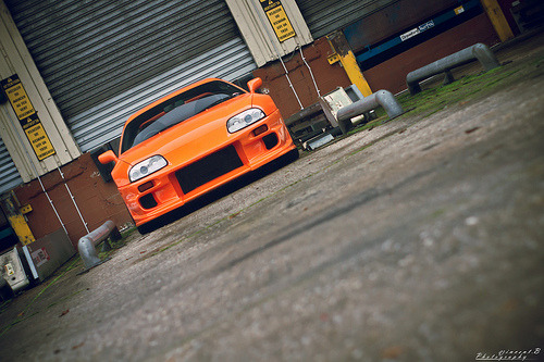A your feet begging Starring: Toyota Supra (by Vincent.B Photography)