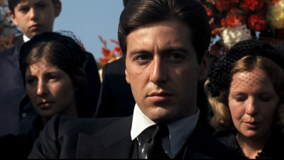 voxsart:  Black is for parties.  And funerals. Al Pacino.