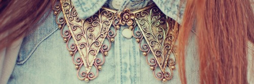jeannie-dove:  Johanne D., France lookbook.nu necklace collar