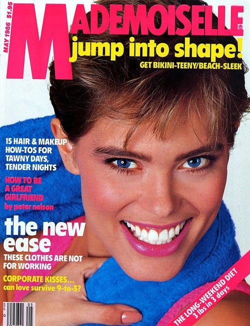 Mademoiselle May 1986 Model: Renée Simonsen ph: Bill King