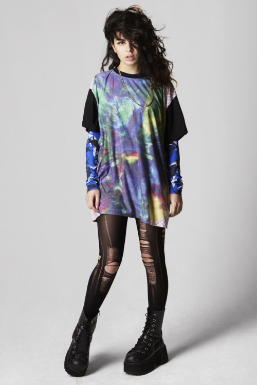 i-donline:  The Whatever The Weather Issue, Pre-Spring 2012Charli XCX by Thomas Lohr Miss XCX heads i-N conversation and chats girl power, Hackney roots and platform boots with i-D. More here. i-Donline.com