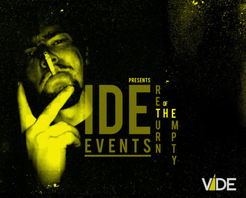 Vide Events! Cant wait for this to start up properly!