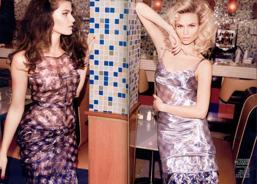 (via 'The New Fifties' Isabeli Fontana & Natasha...