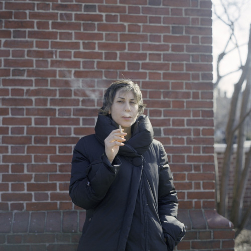A woman who smokes, but not too much [Cambridge, Massachusetts. 2012]