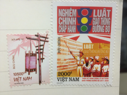 Stamps from Vietnam!