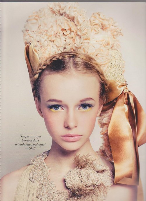 Angela Filippova,BAZAAR Beauty,Indonesia