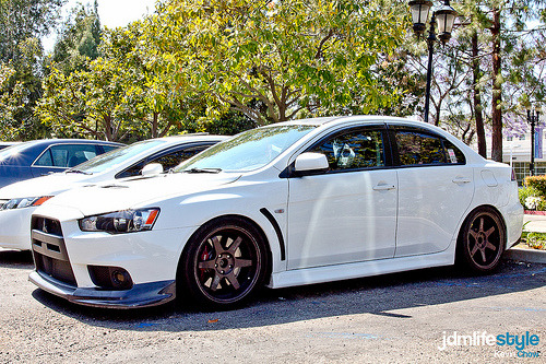 It was a long winter Starring: Mitsubishi Lancer Evo X (by kkchow318)