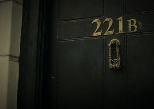 (via 221b Baker Street Brass Door Knocker BBC by 320autumnstreet)