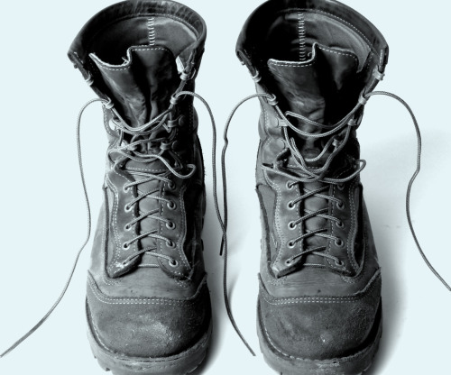 bestmadeco:  Best Made Boot Care Eli Romer grew up in Eastern Oregon. His father was a carpenter and when his feet were big enough he grew into his father's Danner work boots. At 18 he took his first job in a local lumber mill and bought his own Danners. Ten years later and Eli is now the quality control coordinator at Danner boots. Although he's most often found putting the latest Danner offering to the test, he is still known to sport that first pair of Danners. Eli oversees the field testing of all Danner boots and months prior to any new release he has dispatched the prototype for rounds of abuse. Whatever you think you can ladle onto a pair of boots, Eli has seen it.  You may have the money and wits to find the right pair of boots, but are you willing to put the time and effort in to making them last? As true believers in the value of long-lasting tools, and as long-time Danner devotees we turned to Eli for some tips on boot care, and here are some of our notes: Before you buy make sure your boots fit properly. This may seem painfully obvious but you'd be surprised (especially in the age of online ordering) how many people settle for ill-fitting boots, which in turn wear out irregularly. Note: if you have wide feet then you'll appreciate that folks like Danner offer a multitude of widths. Never dry your boots with forced heat (ie- a hair dryer), let them slow dry. If you live in a bog or your boots are exposed to water on a frequent basis then invest in a proper boot drying apparatus. City streets will wear down a good pair of soles two to three times faster than natural terrain. Note: we've heard that New York City sidewalks are the harshest as they incorporate abnormally high quantities of recycled glass into the concrete mix (maybe the local cobblers are in on this). Don't wear your boots into the ground past the point of repair. Companies like Danner offer a recrafting service, where you can send your old faithfuls in for repair. In the end there's only so much a manufacturer or good cobbler can do. Use a boot oil or conditioner free of animal fat (which will clog up the pores of the leather and leave your boots unbreathable).   Clean, dry, and condition your boots on a regular basis. Dirt in particular will eat through seams and fabric like battery acid. If in doubt never hesitate to contact your manufacturer. Boots nowadays are often comprised of multiple fabrics and fibers, and it might take some expert explaining to get your boot care routine down just right. People like Eli would love to help add years to the life of your boots.  Pictured above: one of our favorite boots, Danner USMC RATs.  Bestmade and danner, 2 of the best!