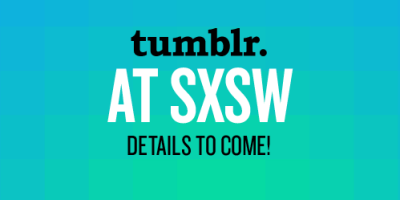 staff:   We're heading to Austin for SXSW!  We'll be down there for all of Film, Interactive and Music and would love to hang out.  Are you going to be there too? Let's us know and we'll send more details about our SXSW plans.    Reblogged with TumTum ♻