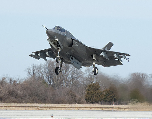 U.S. is giving Lockheed a $1 million-a-month pay cut until they can track the cost of the F-35 Read more at Reuters.  Image from Multiply Leadership.