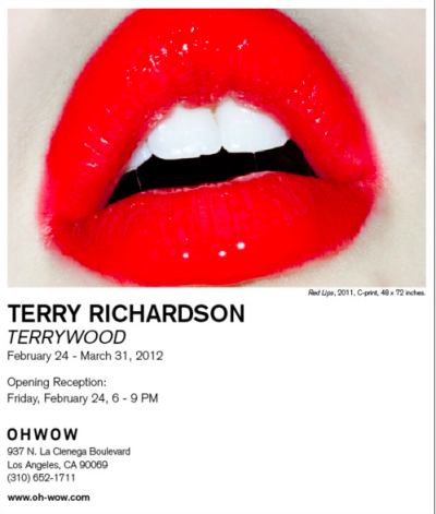 If you're in L.A., don't miss the #TerryWood by @Terry_World exhibit!